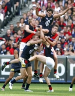 AFL 2011 Rd 04 - Carlton v Essendon
