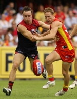 AFL 2011 Rd 04 - Gold Coast Suns v Melbourne
