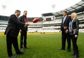 AFL 2011 Media - Olivia Live at the G Launch