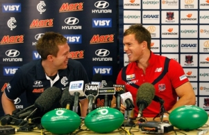 AFL 2011 Media - Brent Moloney and Jeremy Laidler Media Conference