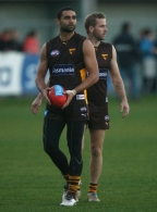 AFL 2011 Training - Hawthorn 170611