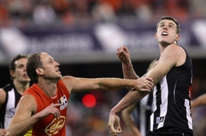 AFL 2011 Rd 18 - Gold Coast v Collingwood