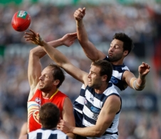 AFL 2011 Rd 20 - Geelong v Gold Coast