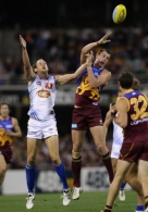 AFL 2011 Rd 21 - Lions v Gold Coast