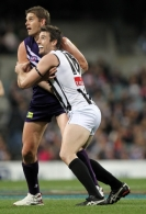 AFL 2011 Rd 23 - Fremantle v Collingwood