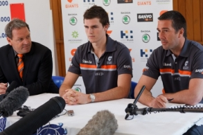 AFL 2011 Media - GWS Player Signing Announcement 080911