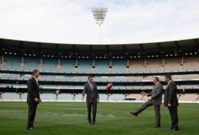 AFL 2011 Media - MCG Southern Stand Upgrade Press Conference