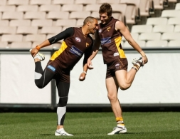 AFL 2011 Training - Hawthorn 220911