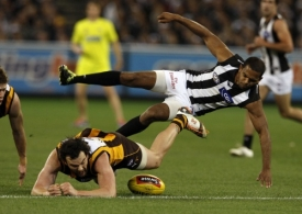 AFL 2011 1st Preliminary Final - Collingwood v Hawthorn