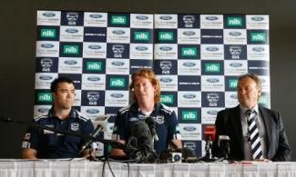 AFL 2011 Media - Cameron Ling Retirement