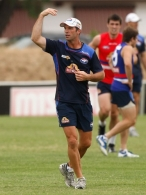 AFL 2012 Training - Western Bulldogs 250112