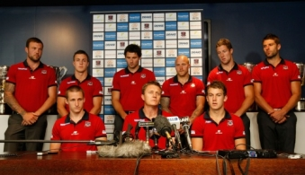 AFL 2012 Media - Melbourne Captains Announcement