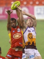 AFL 2012 NAB Cup Rd 01 - Brisbane v Gold Coast