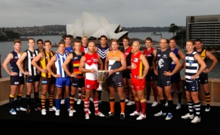 AFL 2012 Media - AFL Captains Portraits