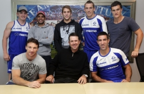 AFL 2012 Media - Ricky Ponting North Melbourne Visit 230312