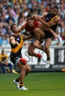 AFL 2012 Rd 03 - Richmond v Melbourne