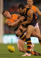 AFL 2012 Rd 04 - Adelaide v GWS Giants