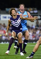 AFL 2012 Rd 05 - Fremantle v Carlton