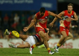 AFL 2012 Rd 08 - Western Bulldogs v Gold Coast