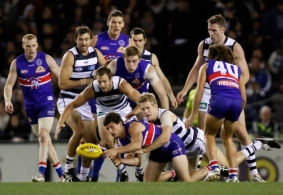 AFL 2012 Rd 09 - Western Bulldogs v Geelong