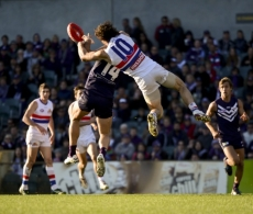 AFL 2012 Rd 15 - Fremantle v Western Bulldogs