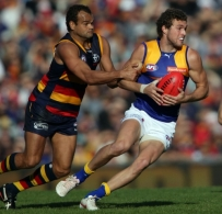 AFL 2012 Rd 17 - Adelaide v West Coast