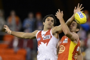 AFL 2012 Rd 18 - Gold Coast v Sydney