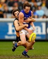 AFL 2012 Rd 20 - Richmond v Western Bulldogs