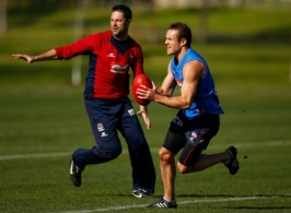 AFL 2012 Training - Melbourne 150812