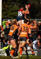 AFL 2012 Rd 21 - GWS Giants v Melbourne