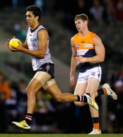 AFL 2012 Rd 22 - St Kilda v GWS Giants