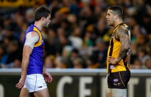 AFL 2012 Rd 23 - Hawthorn v West Coast