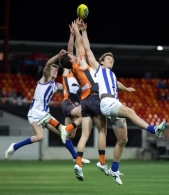 AFL 2012 Rd 23 - GWS v North Melbourne