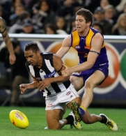 AFL 2012 1st Semi Final - Collingwood v West Coast