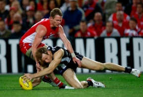 AFL 2012 2nd Preliminary Final - Sydney v Collingwood