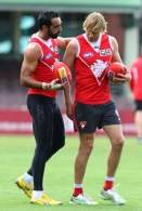 AFL 2012 Training - Sydney Swans 250912