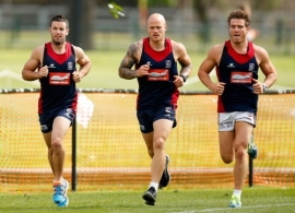 AFL 2012 Training - Melbourne 091112