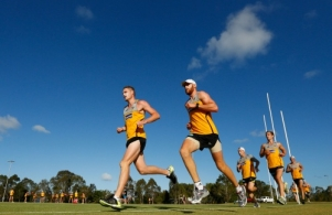 AFL 2012 Training - Hawthorn Pre-Season Camp Day 1
