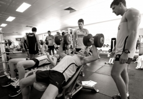 AFL 2012 Training - Hawthorn Pre-Season Camp Day 2