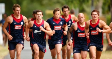 AFL 2013 Training - Melbourne 090113