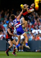 AFL 2013 NAB Cup Rd 01 - Essendon v Western Bulldogs