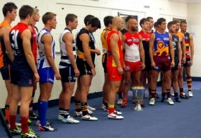 AFL 2013 Media - AFL Captains Photo Day