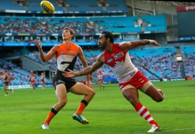 AFL 2013 Rd 01 - GWS Giants v Sydney