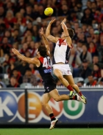 AFL 2013 Rd 02 - Essendon v Melbourne