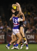 AFL 2013 Rd 03 - Richmond v Western Bulldogs