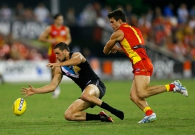 AFL 2013 Rd 04 - Gold Coast v Port Adelaide