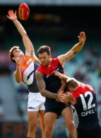 AFL 2013 Rd 04 - Melbourne v GWS Giants