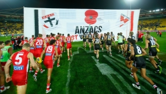 AFL 2014 Media - ANZAC Day Collection