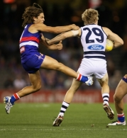 AFL 2013 Rd 05 - Western Bulldogs v Geelong