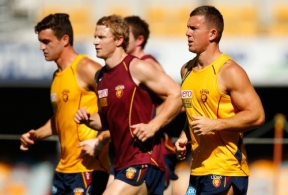 AFL 2013 Training - Brisbane 010513